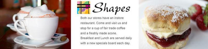 Shapes In Store Restaurant